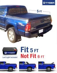 TYGER Tri-Fold Pickup Tonneau Cover Fits 05-15 Toyota Tacoma ... Toyota Tacoma With 6 Bed 62018 Retrax Retraxone Tonneau Toyota Tundra Wonderful Tundra Cover Advantage Surefit Snap Truck Rollup Vinyl For Nissan Frontier 5ft Soft Trifold For 1617 Rough Country 0515 Tacoma Bak G2 Bakflip 26406 Hard Folding Revolver X2 Steffens Automotive Foldacover Personal Caddy Style Step Amazoncom Extang 44915 Trifecta How To Remove A G4 Elite Or Ls Series