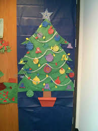 Easy Office Door Christmas Decorating Ideas by Classroom Christmas Decorations Ideas Part 21 Full Image For