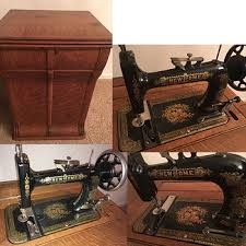 Vintage Kenmore Sewing Machine In Cabinet by Other Vintage Sewing Machines Collectors Weekly