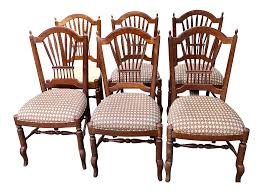 Ethan Allen French Country Wheat Chairs- Set Of 6 Reupholstering A Chair The Saga Part I Stonegable Metal Rocking Chairs One Off Chair Design India Cafojapuqetop Set Of 4 Vintage Ethan Allen Chairs This Set Includes Wildkin Royal Features Removable Plush Cushions And Gilded Tassels Perfect For The Little Princess In Your Life White Fniture Update Decor With Cheap For Accent Millionaires Daughter Enchanting Top Collection Berwick British Colonial Style Caned Lounge Balta Seagrass Armchair Ottoman Pillow Ethan Allen Set Of 2 Wicker Rocker Nsignfniturenowcom Home