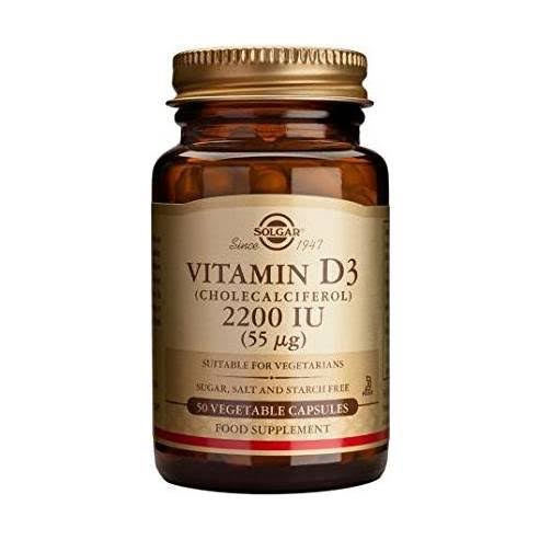 Solgar Natural Vitamin D3 Cholecalciferol 2200 IU