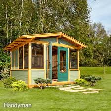16x12 Shed Material List by Shed Plans Storage Shed Plans The Family Handyman