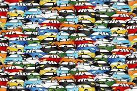 Hard Halloween Brain Teasers by Can You Find The Black Cab Hidden Among These Cars Tricky Brain