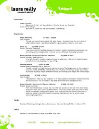 Cosmetology Resume Templatess For Cosmetologist Templates Incredible Sample Recent Graduate