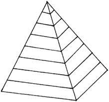 Pyramid Shape Coloring Page