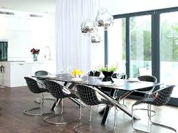 Large Dining Room Chandeliers Contemporary Crystal Impressive Design Ideas
