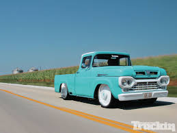 1960 Ford Truck Why Nows The Time To Invest In A Vintage Ford Pickup Truck Bloomberg 1960 F100 Classics For Sale On Autotrader This Sema Build Will Make You Say What Budget Wheels Pinterest Trucks And Classic Ranchero Red Motormax 79321acr 124 F1 Street Legens Hot Rods The Show 2016 Youtube Ford 12 Ton Short Bed 460 Big Block Power C6 Frankenford With Caterpillar Diesel Engine Swap Classiccarscom Cc708566 To 1970 Trucks For Best Resource Nice Lowered Stance Satin Black Paint Job