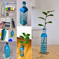How To Use Waste Bottles For Decoration Impressive Ideas Home From Materials Design