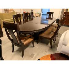 Bernhardt Furniture Table And Eight Chairs Jet Set Ding Room Items Bernhardt Santa Bbara Includes Table And 4 Side Chairs By At Morris Home 78 Off Embassy Row Cherry Carved Wood Haven Chair Each 80 Gray Deco All Montebella 9 Piece Baers Design Couch Sale Interiors Keeley Of 2