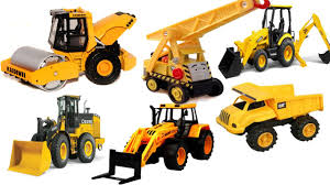 100 Construction Trucks Names Learn Vehicles For Children Digger