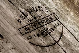 wood text photoshop tutorials psddude