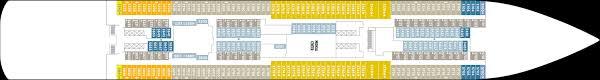 Ncl Breakaway Deck Plan 14 by Cruise Southampton