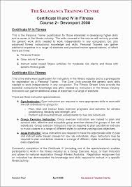 Personal Trainer Resume Example No Experience Teacher Examples At Sample Ideas