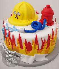 fireman cake sugar cakes montreal kindertorte