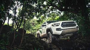 Toyota's Hardcore Tacoma TRD Pro Tackles Hawaii - The Drive