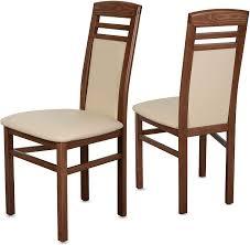 holzstühle esszimmer staboos 2er set stühle buche geölt bis