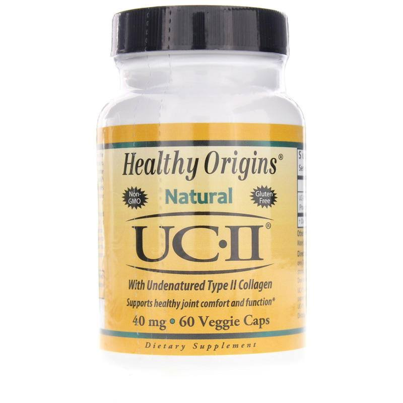 Healthy Origins - UC-II 40 mg (with Undenatured Type II Collagen) - 60