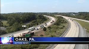 Overturned Dump Truck Blocks Multiple Lanes On Route 422 In ...