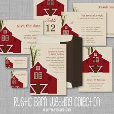 3 Comments On Rustic Barn Wedding Invitations