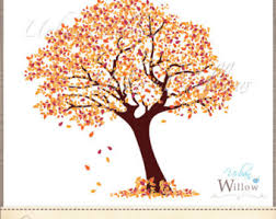 AMBER TREE Clip art image in 3 sizes & Jpeg files Small