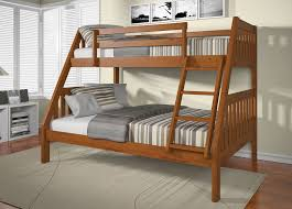 Jeromes Bunk Beds by Wood Bunk Beds Twin Over Full Oak Wood Bunk Beds Twin Over Full