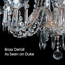 Swarovski Crystal Lamp Finials by Chesapeake 7 Light Crystal Chandelier With Swarovski 27