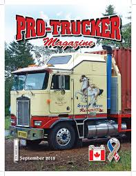 100 Ralph Smith Trucking ProTrucker Magazine September 2018 Issue By ProTrucker