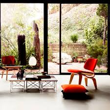 Contemporary Visitor Chair / Upholstered / Fabric / Wooden - EAMES ... Eames Molded Plastic Side Chair Wire Base Plywood Lounge With Wood Upholstered Buy The Vitra Lcw At Ding Metal Herman Miller Replica Chicicat March Madness Vs Organic Eamesmolded Fiberglass Black Moma Design Store