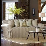 Sure Fit Sofa Slipcovers by Sure Fit Grain Sack Stripe Sofa Slipcover Walmart Com