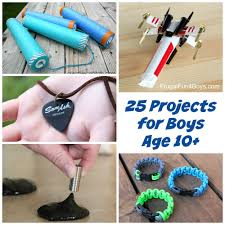 25 Awesome Projects For Tween And Teen Boys Ages 10 Up Regarding Cool