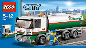 LEGO City Instructions For 60016 - Tanker Truck - YouTube