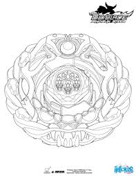 Orochi Coloring Page More Beyblade Coloring Sheets On Hellokidscom
