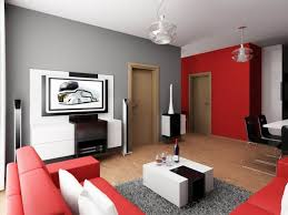 red and black living room decorating ideas photo of good living