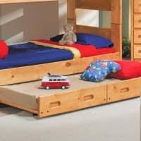 Trendwood Bunk Beds by Trendwood Wrangler Bunkhouse Twin Bunk Bed Mattresses Included