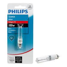100 watt halogen t4 mini candelabra base sconce dimmable light
