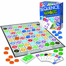 Sequence Numbers All Of The Board Games Get High Ratings For Their Pattern Seeking FunThis Is One Brings In Addition And Subtraction Practice
