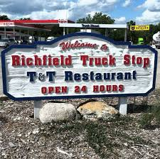 Richfield Truck Stop - Home - Richfield, Wisconsin - Menu, Prices ... Big Rig Trucks In Parked At Truck Stop Mojave California Stock Lined Up At Truck Stop In Central Photo Stops I Love Em Our Great American Adventure San Diego 2506 Watching Trucks The Loves Youtube A Loves Ripon 23467653 Alamy Stops New Branding And Amenities They Offer Westnorth Two Mile Ca Fe By Wojczuk Michael Crosscut Saw Unltd Redding Travel Center Sign Grapevine On Little Caesars Hiway 80 Longview Local News Carls Jr Restaurant Santa Nella A