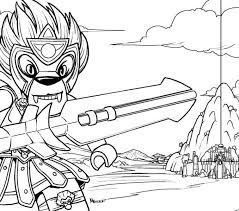 Colouring Pages Lego Chima Coloring Best Adresebitkisel