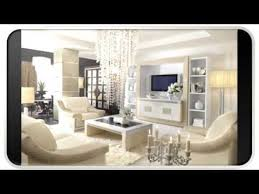 White Modern Classic Living Room Design Ideas