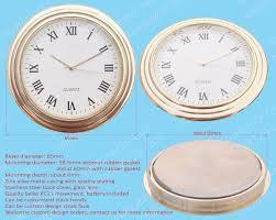 Movado Mini Desk Clock by Seiko Clock Inserts Seiko Clock Inserts Suppliers And