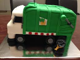 Garbage Truck Cake - Green - That's My Cake | Cake | Pinterest ...