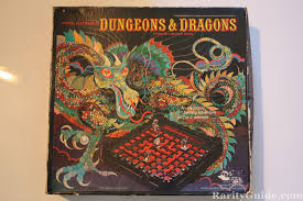 Dungeons And Dragons Board Game Box Top