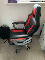 PC / Gaming / Desktop Chair | In Sheffield, South Yorkshire | Gumtree Factory Direct New Gaming Chair Racing Style Highback Office Grandmaster Red Pc Opseat Pink Computer Series Fniture Comfortable Walmart For Relax Your Seat Dxracer Formula Fl08 Officegaming Black White Best 2019 Chairs For And Console Gamers The 14 Of Gear Patrol Top 15 Ergonomic Buyers Guide Wip My Girlfriends Btlestation Beside Mine Dream Pcs In Respawn Desk Set Reviews Wayfair