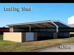Loafing Shed Kits Texas by Carolina Carports Carports Nz Steel Shed Kits Youtube