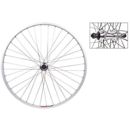 Wheel Master Rear Bicycle Wheel - 26 x 1.5 32H, Quick Release, Alloy, Silver