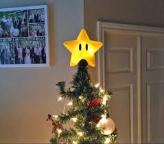 Power Star Christmas Tree Topper
