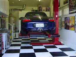 Home garage auto lift The Mustang Source Ford Mustang Forums