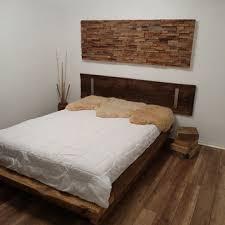 Textured Rustic Decor Teak Wood Wall Art Reclaimed Home Rust