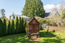Little House In The Backyard - After A Few Years Of Living In Her ... Backyard Cottages Small House Bliss Our Little Tikes Playhouse Remodel Outside Playhouses Cute Design Little Houses Built Full Imagas Natural Simple That Green House Pinterest 9 Tiny Homes You Can Rent Right Now Curbed Flowers Tree Backyard Garden Flower Hd Theme Darling Camper Turned Into Guest Cottage And Exterior Facade Of A Seattle Studio Homes Building Youtube Cottage Co Cape Cod Floored Playhouse Kit Relaxing As Wells Chilling Along With Outdoor In The Big D Revamp Update 1 With Luxury