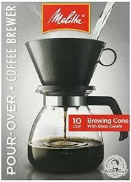 Cone Filter Coffee Maker Coffeemaker Cup 1 Count